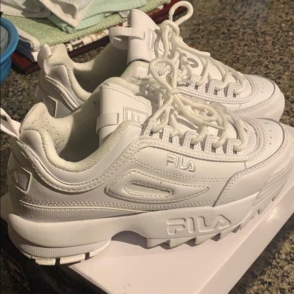 Sold: Fila Sneakers , Disruptors, Size 7